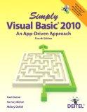 Simply Visual Basic 2010: An App-Driven Approach (4th Edition)