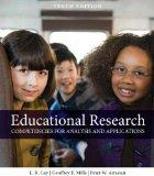 Educational Research : Competencies for Analysis and Appli