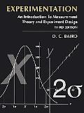 Experimentation An Introduction to Measurement Theory and Experiment Design