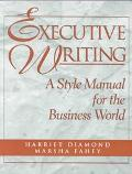 EXECUTIVE WRITING (P)