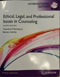 Ethical, Legal, and Professional Issues in Counseling International Edition
