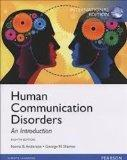 Human Communication Disorder: An Introduction