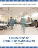 Foundations of Operations Management, Fourth Canadian Edition, 4/e