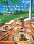 Managing Service in Food and Beverage Operations with Answer Sheet (AHLEI) and Managing Serv...