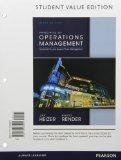 Principles of Operations Management, Student Value Edition Plus NEW MyOMLab with Pearson eTe...