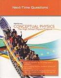 CONCEPTUAL PHYSICS C2009 NEXT TIME QUESTIONS