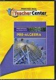 2009 Prentice Hall Pre Algebra Teacher Center CD Program