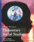 Effective Teach.in Elem.social Studies