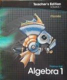 Prentice Hall Algebra 1, Vol. 1, Teacher's Edition