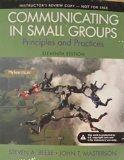 Communicating in Small Groups: Principles and Practices (INSTRUCTOR'S EDITION)