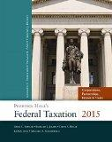 Prentice Hall's Federal Taxation 2015 Corporations, Partnerships, Estates & Trusts Plus NEW ...