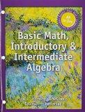 Basic Math, Introductory and Intermediate Algebra -- with Access Card