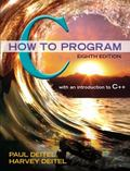 C How to Program