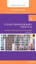 Contemporary Topics 1 Streaming Video Access Code Card