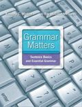 Grammar Matters Plus MyWritingLab with eText -- Access Card Package