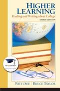 Higher Learning: Reading and Writing About College Plus NEW MyStudentSuccessLab Update -- Ac...