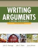 Writing Arguments: A Rhetoric with Readings, Concise Edition Plus MyWritingLab -- Access Car...