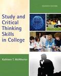 Study and Critical Thinking Skills in College Plus NEW MyStudentSuccessLab -- Access Card Pa...