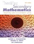Teaching Secondary Mathematics: Techniques and