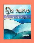 De Nuevo: Spanish for High Beginners, Alternate Edition