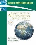 Principles of Operations Management : International Edition