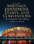 Meetings, Expositions, Events & Conventions (3rd Edition)