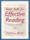 Basic Skills for Effective Reading