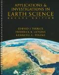 Applications and Investigations in Earth Science - Frederick K. Lutgens - Paperback - Older ...