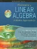 Elementary Linear Algebra: A Matrix Approach: Instructor's Edition