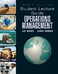 Operations Management -Student Lecture Guide