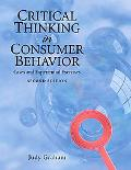 Critical Thinking in Consumer Behavior: Cases and Experiential Exercises