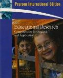 Educational Research: International Version: Competencies for Analysis and Applications