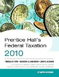 Prentice Hall's Federal Taxation 2010: Comprehensive