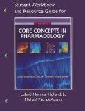 Study Guide for Core Concepts in Pharmacology