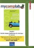 MyCompLab CourseCompass with Pearson eText Student Access Code Card for Quick Access, Refere...