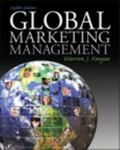 Global Marketing Management,