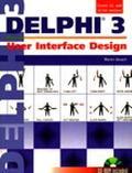 User Interface Design With Delphi 3 - Warren Kovach - Paperback - BK&CD ROM