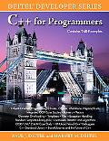 C++ for Programmers (Deitel Developer Series)