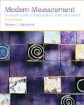 Modern Measurement: Theory, Principles, and Applications of