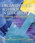 Organizational Behavior in Education: Adap