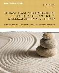 Ethical, Legal, and Professional Issues in the Practice of Marriage and Family Therapy