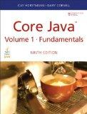 Core Java Volume I--Fundamentals (9th Edition) (Sun Core Series)