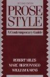 Prose Style A Contemporary Guide