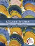 Research in Education: Evidence-Based Inquiry (