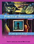 Practical Research: Planning and Des