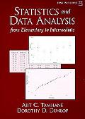 Statistics and Data Analysis From Elementary to Intermediate
