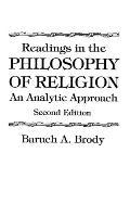 Readings in the Philosophy of Religion An Analytic Approach