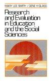 Research and Evaluation in Education and the Social Sciences
