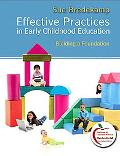 Effective Practices in Early Childhood Education: Building a Foundation (with MyEducationLab)