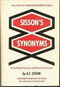Sisson's Synonyms: An Unabridged Synonym and Related-Terms Locator - A. F. Sisson - Hardcover